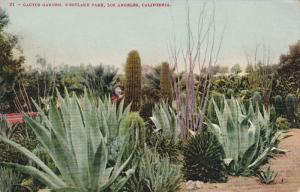 Cactus Garden, Westlake Park, LOS ANGELES, California, 00-10's