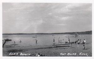 RP: Elks Beach , CUT KNIFE , Saskatchewan , Canada , 30-40s