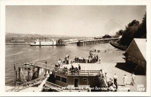 Tacoma WA Ferry Landing Point Defiance Park Ellis #1258 Unused RPPC Postcard F13