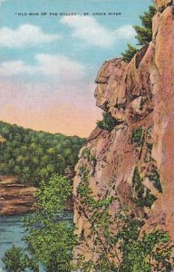 Wisconsin Saint Croix River Old Man Of the Dalles