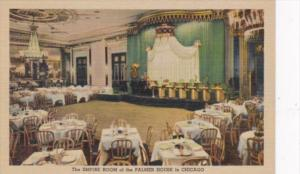 Illinois Chicago Empire Room Of The Palmer House Curteich