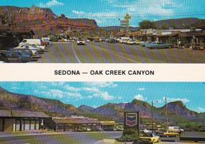 Arizona Sedona Oak Creek Canyon Street Scenes