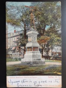 CANADA: Halifax, Soldiers Monument, Provincial Square c1905