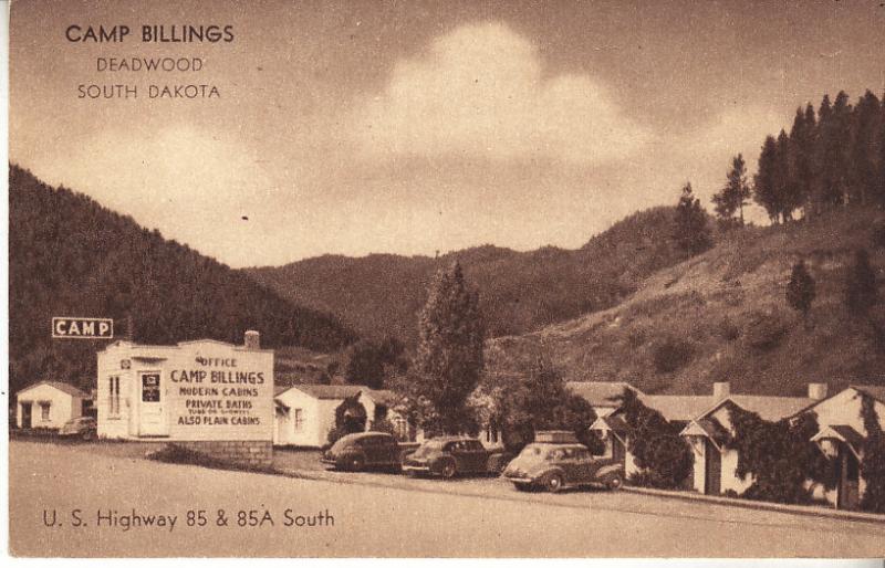 Camp Billings Deadwood South Dakota Cabins - Early Motor Inn