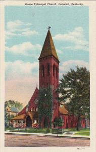 Kentucky Paducah Grace Epsicopal Church Curteich