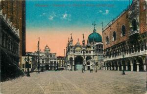 Italia Venice piazzetta S. Marco e Torre dell Orologio