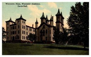 8578  MA Worcester  Academy, Davis hall