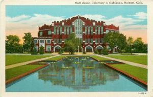 OK, Norman, Oklahoma University, Field House, Curteich No. 9A475-N