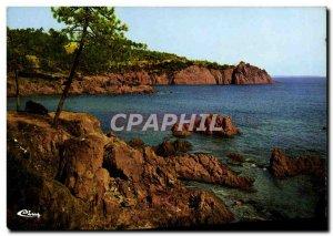Postcard Modern L & # 39Esterel La Corniche D & # 39Or Roches Rouges