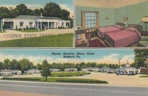 STAFFORD , Virginia , 1930-40s ; Martin Sherwin Motor Court