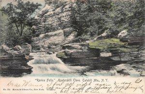 Ravine Falls, Kaaterskill Clove, Catskill Mtns, N.Y., Postcard, Used in 1907