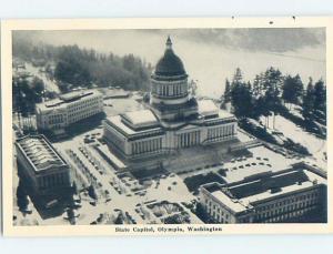 Unused 1940's STATE CAPITOL Olympia Washington WA A4131