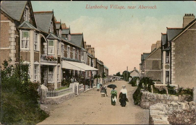 Llambedrog Village near Abersoch