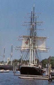 CT - Mystic Seaport Museum. Whaler Charles W. Morgan