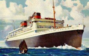 Dollar Steamship Lines - Aboard SS President _____________