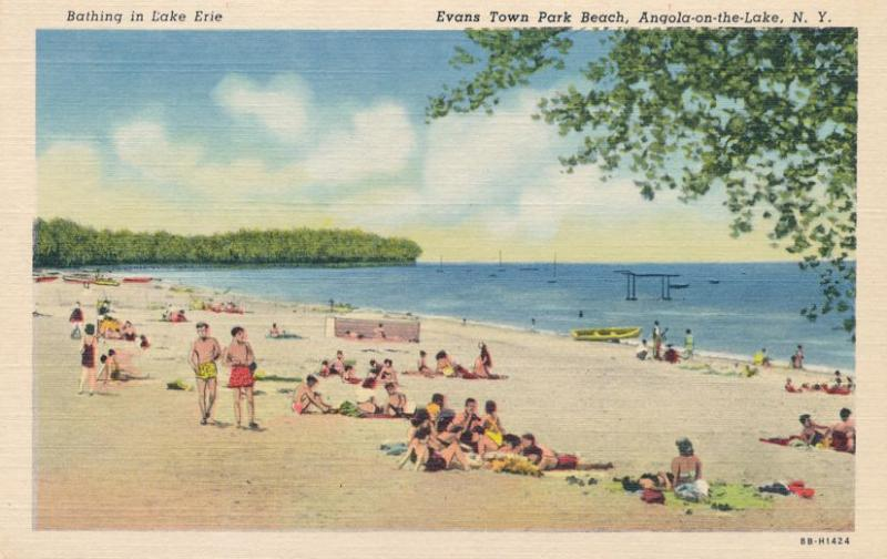 Sandy Beach On Lake Erie Angola The Ny New