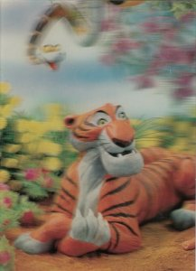 3-D ; Disney The Jungle Book, Snake Kaa & Tiger Shere Khan,1970