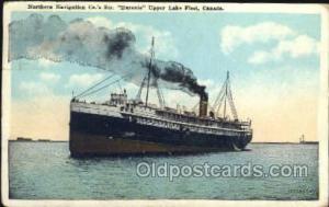 Huronic Ship Postcard Postcards  Huronic