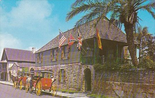 Oldest House Saint Augustine Florida