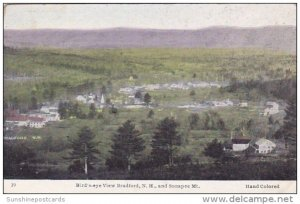 And Sunapee Mount Bird's Eye View Bradford New Hampshire