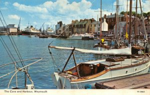 Vintage Dorset Postcard, The Cove and Harbour, Weymouth 61Z