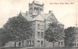 Court House Grand Haven 1910c postcard