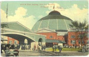 Arch & Dome Bldg State Fair Grounds Springfield, Illinois, 1911 Divided Back