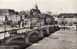 Switzerland Basel Mittlere Rheinbrücke 01.38