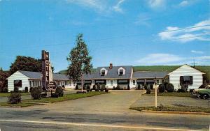 Watkins Glen New York~Queen Catherine Court~1960 Postcard