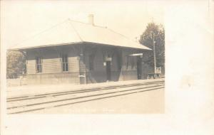 Toulon IL Train Station Depot~Western Union Telegraph & Cable Office~RPPC 1906