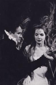 Ian Bannen as Hamlet Royal Shakespeare Company Theatre Postcard