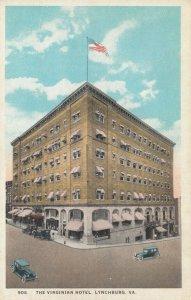 LYNCHBURG , Virginia , 1910s ; The Virginian Hotel