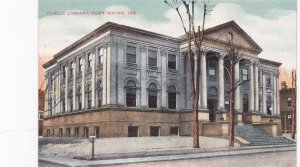 FORT WAYNE, Indiana, 1900-10s; Public Library