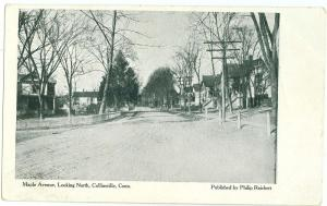 Maple Ave, Collinsville Conn