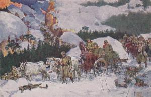 O.IVEKOVIC : Kralj petar I. Veliki putu kronz, Albaniju , 00-10s