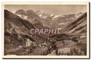 Gavarnie Old Postcard village and the circus