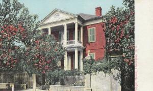 CHARLESTON , South Carolina , 1901-07 ; Pringle House, trees blooming