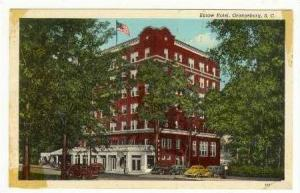 Exterior View, Eutaw Hotel, Orangeburg, South Carolina, 30-50s
