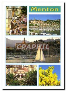 Modern Postcard Menton Alpes Maritimes