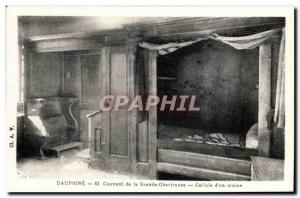 Dauphine - Convent of the Grande Chartreuse - Cell d & # 39un monk Old Postca...