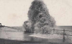 BEXHILL-on-Sea , England , 1900-10s ; Rough Sea