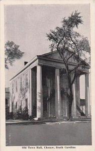 South Carolina Cheraw Old Town Hall