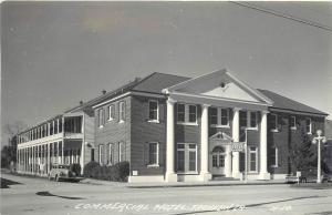 1940s RPPC Postcard; Commercial Hotel, Franklin LA St. Mary Parish Unposted