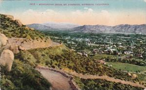 California Riverside Huntington Drive Mount Rubidoux