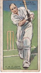 Cigarette Cards Player's Cricketers 1930 No 28 - V W C Jupp