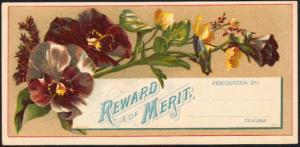 Reward of Merit  G.P. Brown Beverly Mass Sample Card