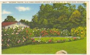 Outdoor Theatre, Blue Ridge Assembly Grounds, Blue Ridge, North Carolina, 30-40s