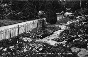 Aberdeen Rock Garden Hazlehead Promenade Postcard
