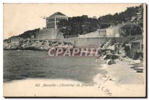 Postcard Old Marseille Corniche the Prophet