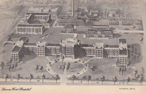 Michigan Detroit Henry Ford Hospital sk3764